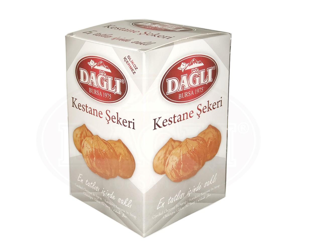 Şuruplu Kavanoz Kestane Şekeri 850g