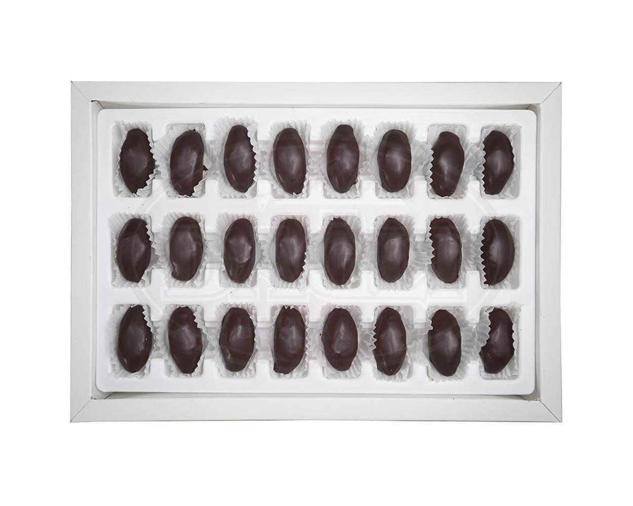 Lüks Kutu Çikolatalı Kestane Şekeri 400g