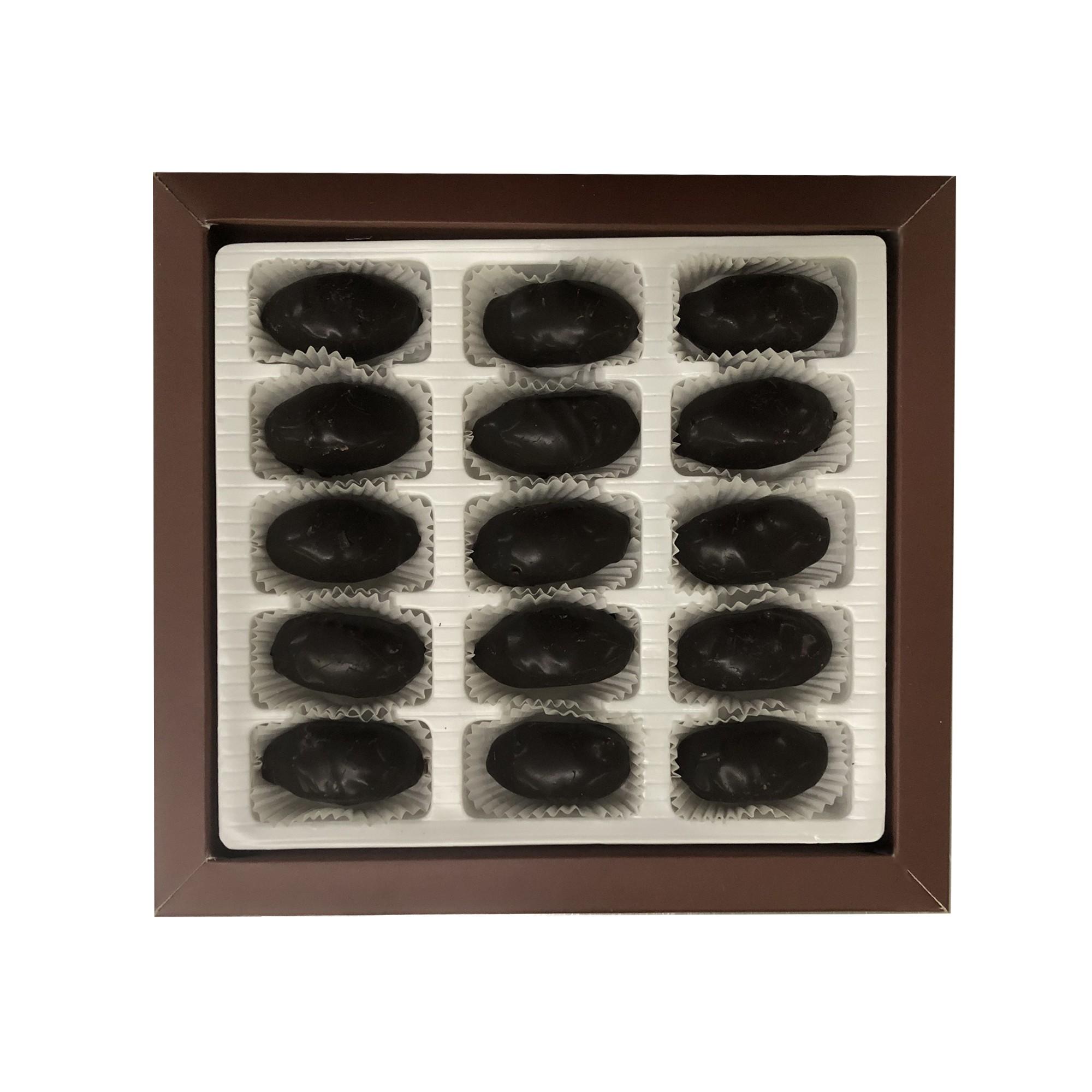 Lüks Kutu Çikolatalı Kestane Şekeri 250g