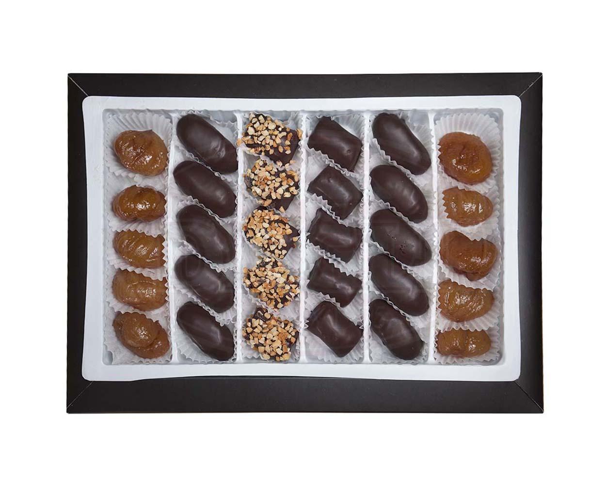 Lüks Kutu Karışık(Spesial) Kestane Şekeri 500g